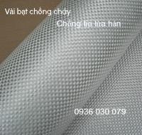 Vải bạt sợi thủy tinh chống cháy